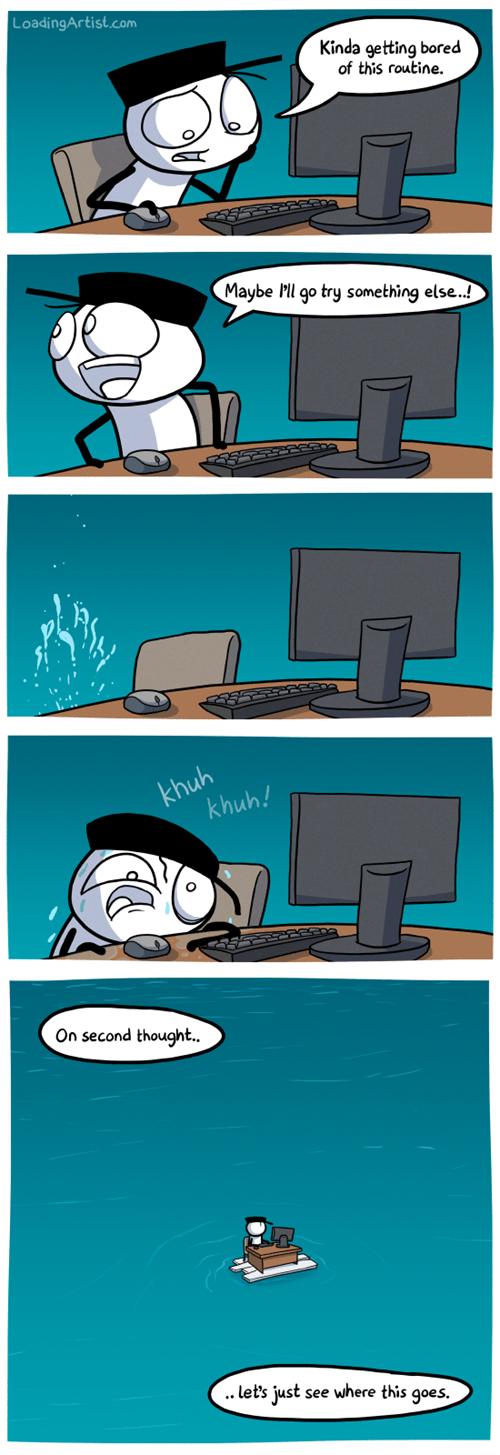 computers puns bored web comics - 8028661248