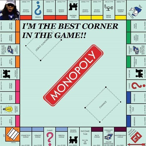 nfl super bowl monopoly richard sherman - 8028669440