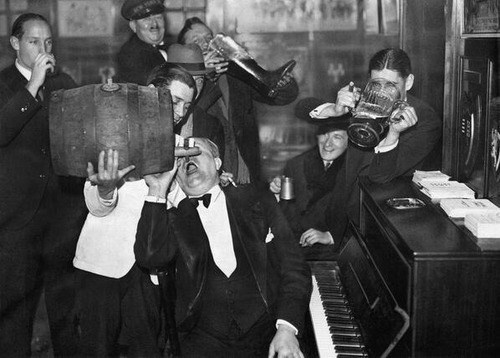 beer history prohibition funny vintage - 8028706560