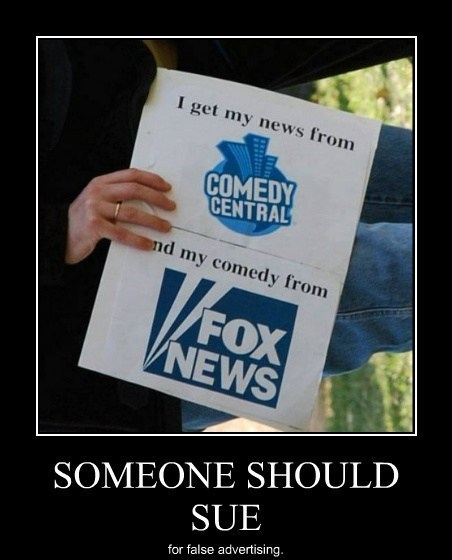 comedy central,fox news,funny,law suit
