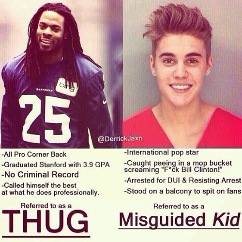 justin bieber nfl seattle seahawks super bowl richard sherman justin bieber arrest - 8028812544