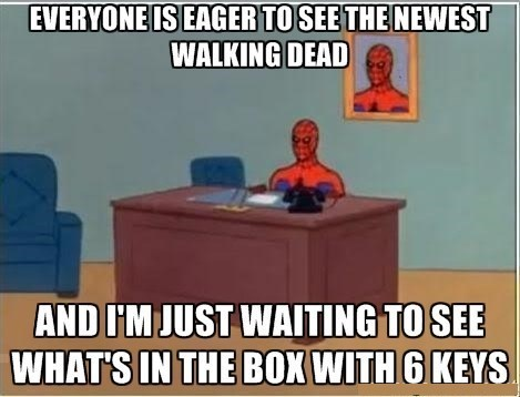 Spider-Man,twilights box,The Walking Dead