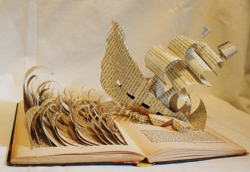 art,sculpture,books