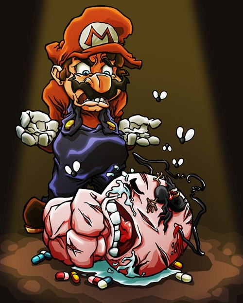 gaming,mario,Fan Art,list,video games