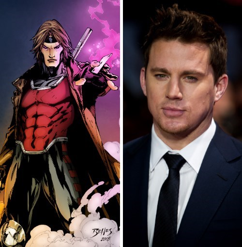 channing tatum,movies,gambit,xmen