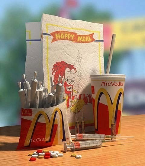 happy meal,news,drug stuff,funny