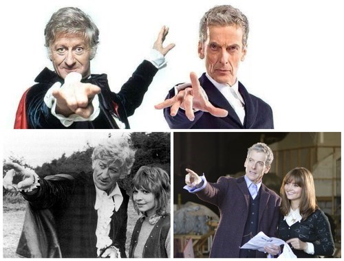 classic who Peter Capaldi 12th Doctor jon pertwee