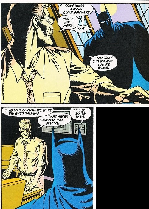 commissioner gordon off the page batman - 8030224384