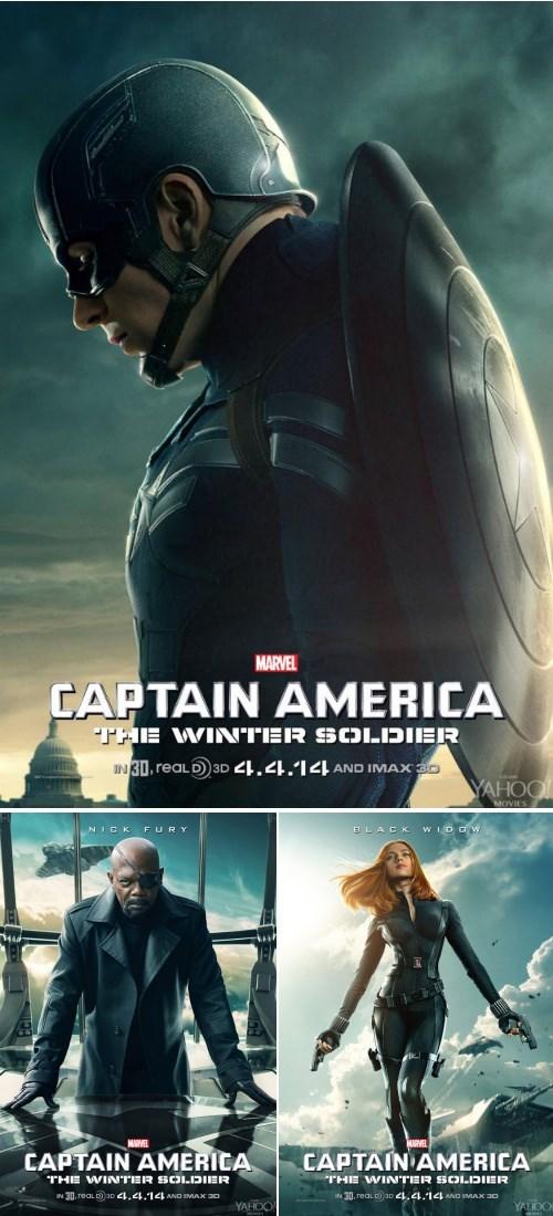 Nick Fury Black Widow winter soldier captain america - 8030244096
