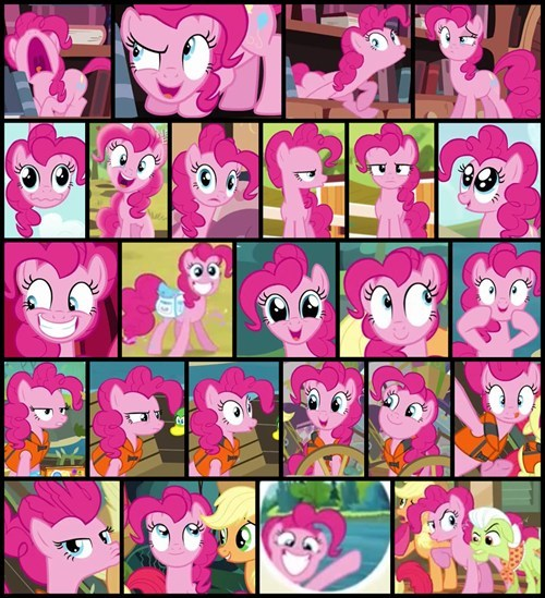 animation,pinkie pie,faces