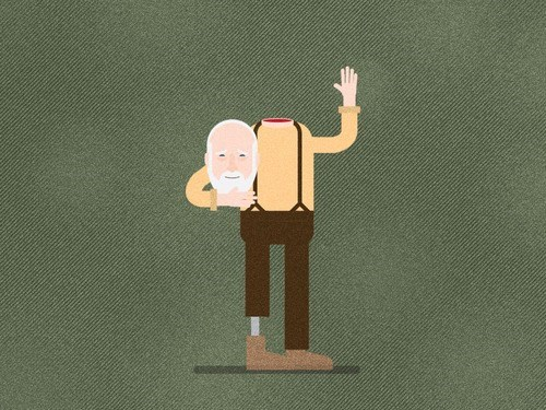 Fan Art decapitated hershel greene - 8030409472