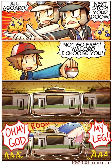 Pokémon,subways,wailord,web comics