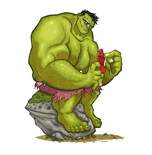 art cardinal lenny the hulk of mice and men - 8030515200