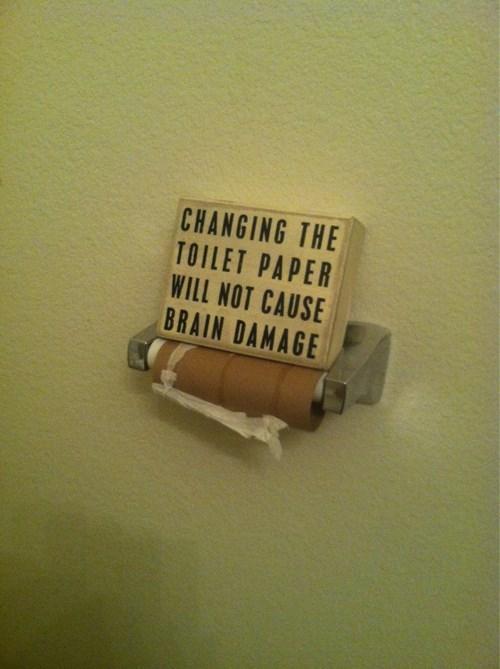 bathroom wisdom toilet paper - 8030614528