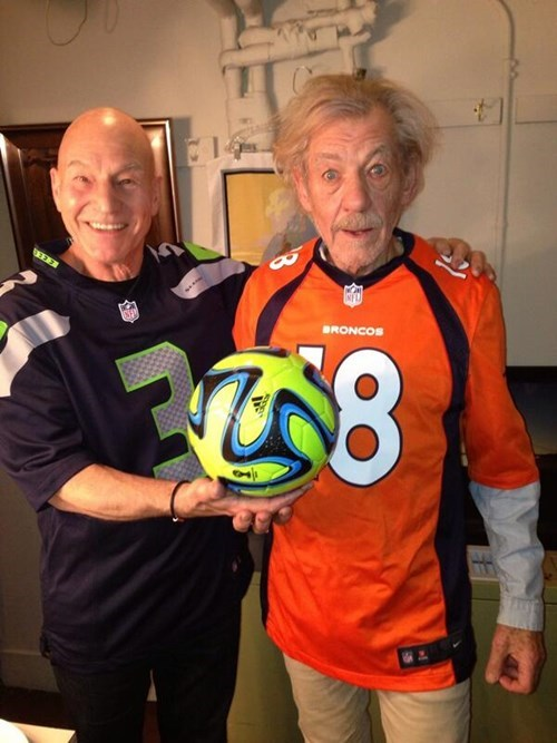 confused Magneto football professor x soccer super bowl XLVIII - 8031482880