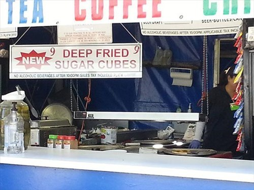 deep fried food sugar cubes - 8031518208