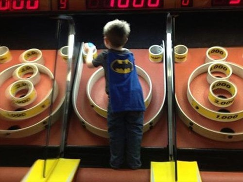 kids,parenting,skee ball