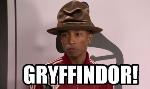 celeb Harry Potter pharrell 2014 grammys