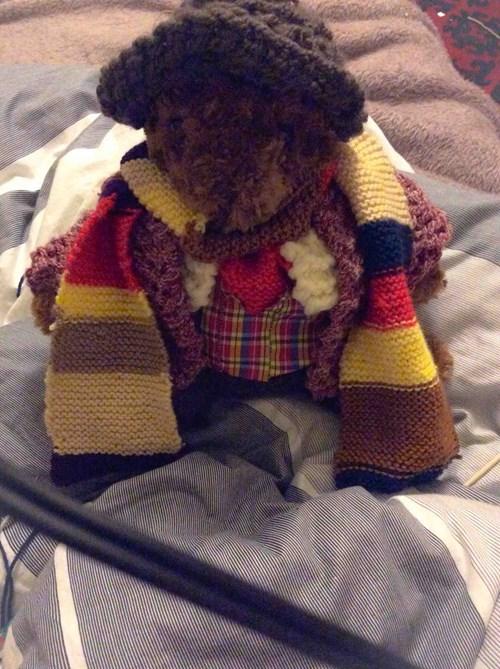 tom baker teddy bear classic who - 8031567616
