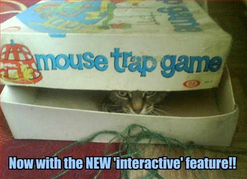 mouse trap board games Cats