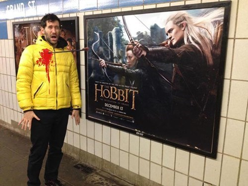 legolas Lord of the Rings nerdgasm The Hobbit hacked irl win - 8031845120