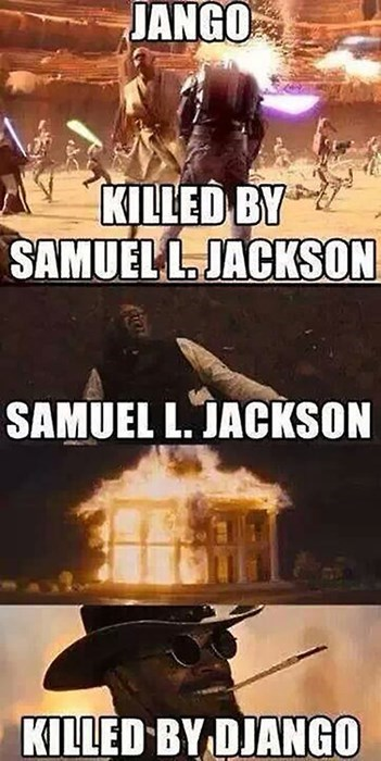 start wars django jamie foxx Samuel L Jackson - 8031862272