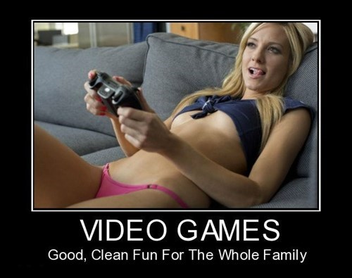 Sexy Ladies video games funny - 8032157184