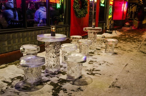 bar design Minnesota weather winter