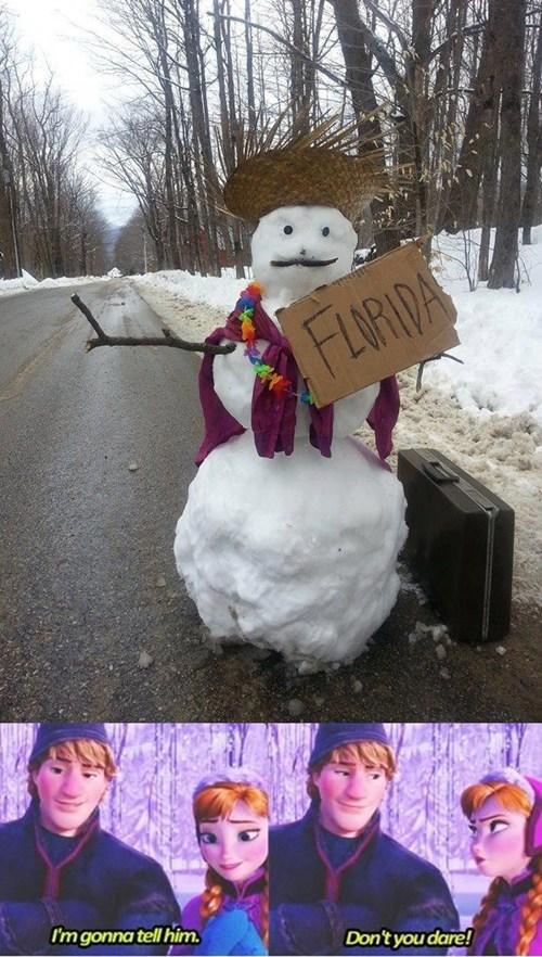 disney,frozen,snowman