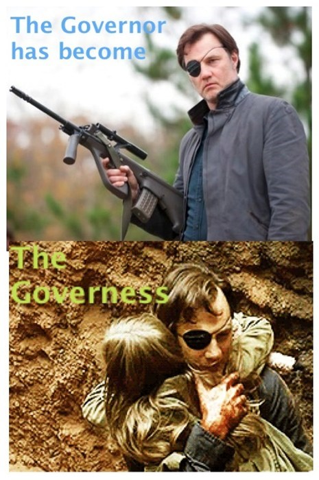 the governor dad little kids