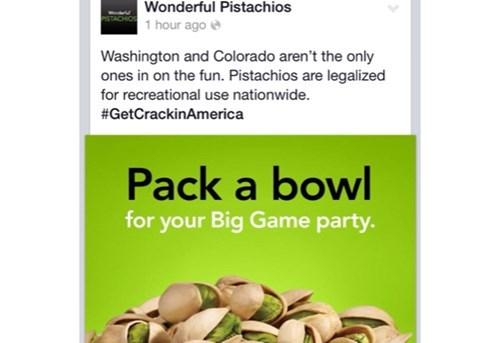 pistachios drugs marijuana super bowl - 8032925696