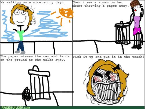 rage littering
