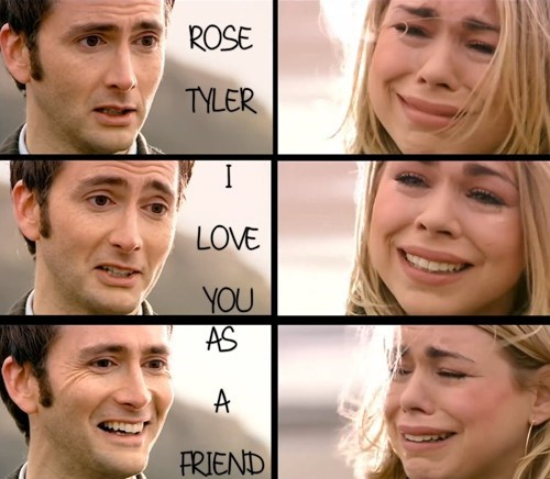 just friends rose tyler 11th Doctor