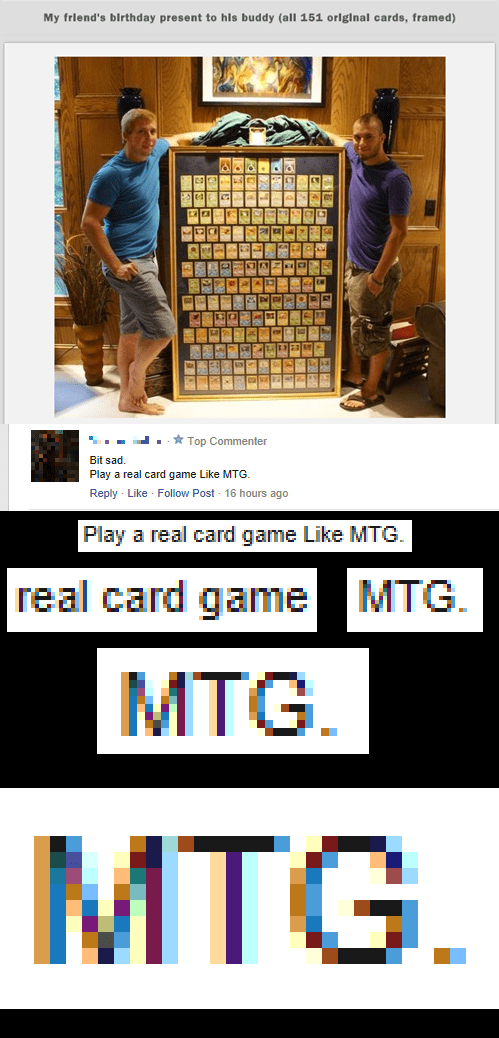 Pokémon magic the gathering card game - 8033200896
