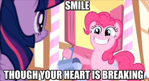 pinkie pie smile hide your feelings - 8033211648