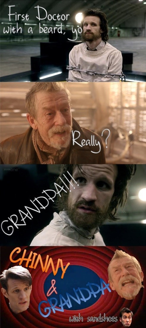 beard-o,sandshoes,12th Doctor,the warrior