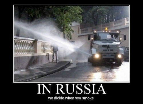 russia apparently smoking funny - 8033466368