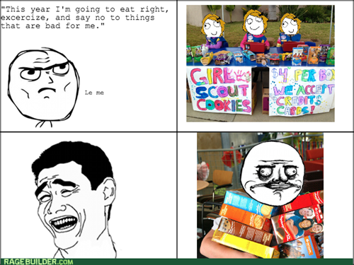 resolutions me gusta girl scout cookies - 8033482496