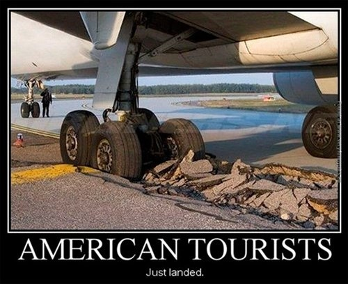 fat tourists plane america funny - 8033548288