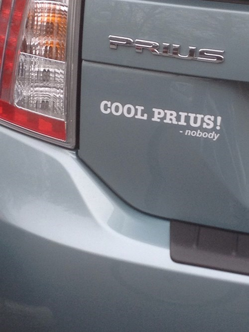bumper stickers,Prius,toyota