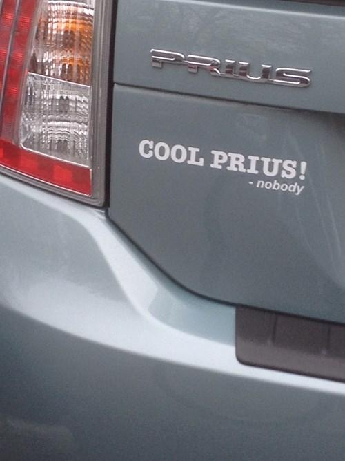 bumper stickers Prius toyota - 8033936896
