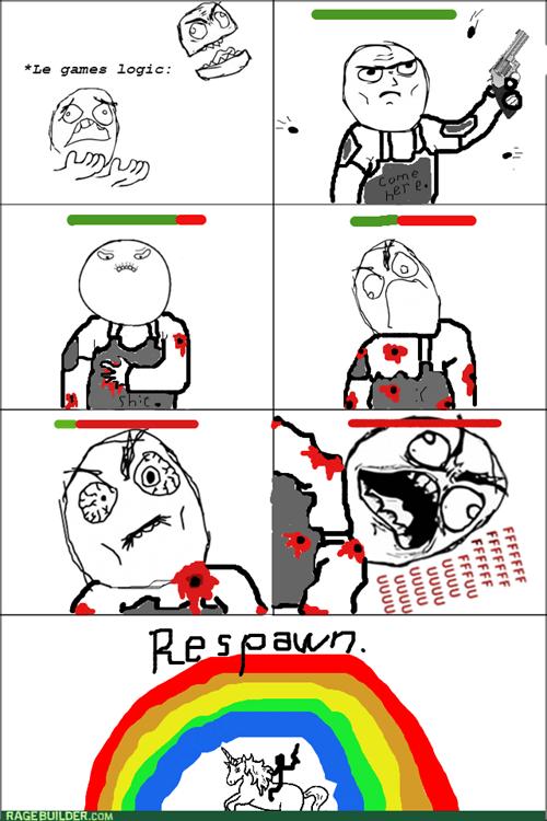 rage respawn video games logic - 8034174464