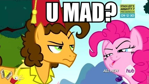 cheese sandwich,u mad,pinkie pie
