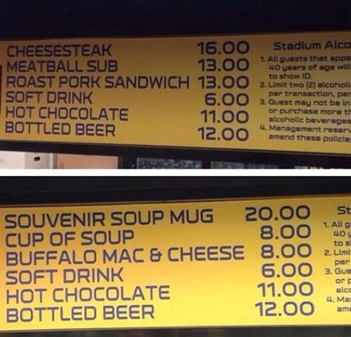 concessions nfl super bowl - 8034976000