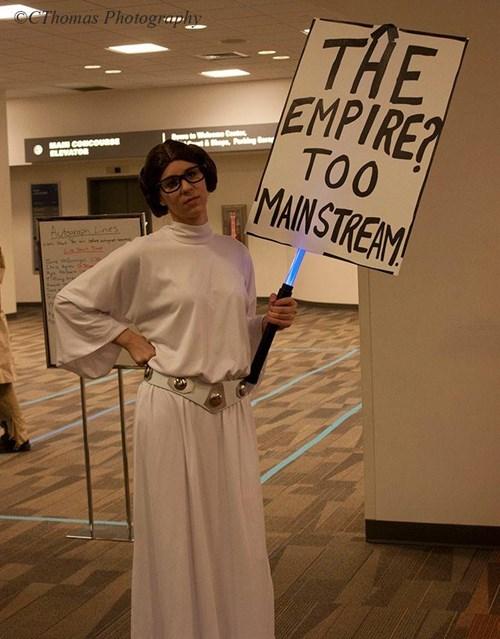 hipsters Princess Leia too mainstream cosaply - 8035208960