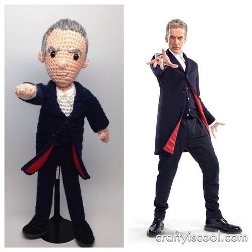 12th Doctor Amigurumi Peter Capaldi - 8035224832