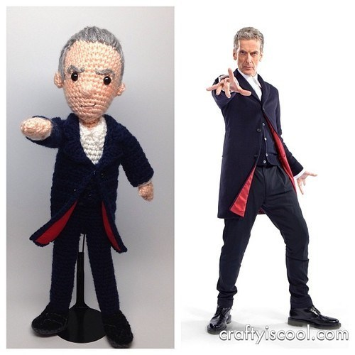 12th Doctor Amigurumi Peter Capaldi - 8035224832