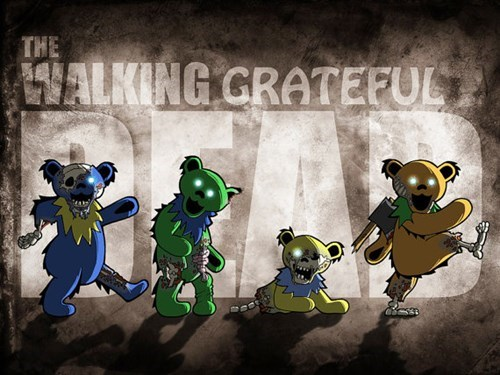 easy grateful dead The Walking Dead tshirts - 8035276800