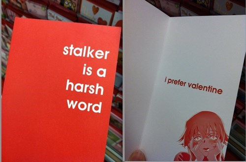 cards stalkers Valentines day