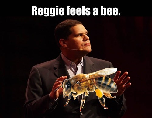 my body is ready,bees,reggie fils-aime